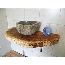 Suchergebnis auf Amazon.de für: Waschtischplatte Holz | {Waschtisch holz rustikal 72}