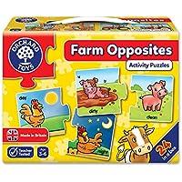 Orchard Toys - Juego de tarjetas ilustradas para formar antónimos (en inglés)