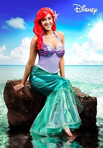 Disguise Little Mermaid Ariel Deluxe Womens Fancy dress costume Large