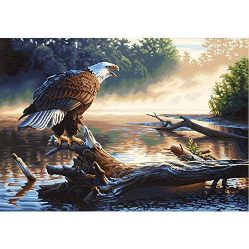 Sunnay Diamond Art,Adler,5D Diamant Painting Set Kaufen Full Stickerei Groß 3D Bilder DIY Diamonds Shop,30 x 40 cm (Bilder Adler)