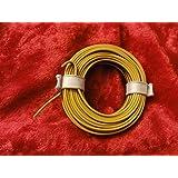 Modelo Ferrocarril, Ferrocarril litz 2colores 5m anillo marrón/amarillo