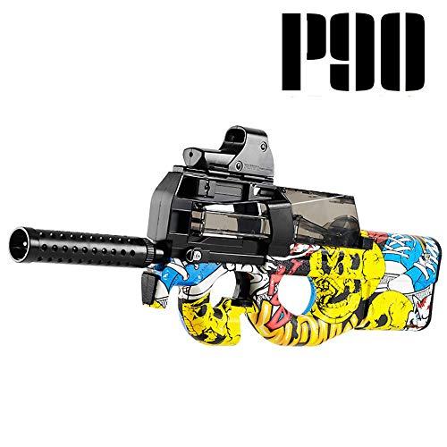 TIAO Pistolet à Eau Jouet, Pistolet à Eau électrique Pistolet à Eau Pistolet à Eau Longue Distance Puissant Pistolet à Eau électrique pour Enfants et Adultes,Burst