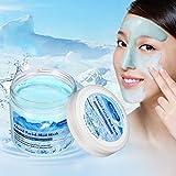 Masque Glacier LuckyFine Masque Glacier Nettoyage en Profondeur/L'huile de Contrôle/Hydratant/Retrécit Les Pores Dilatés / Apaise La Peau/ Rich de Particules Cristaux/ Soin après le Bronzage