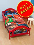 Disney Cars 2 'Espionage' 4 in 1 Junior Bed Set (Duvet + Pillow + Covers)