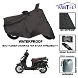 #9: Fabtec Waterproof Scooty Cover for Honda Aviator with Storage Bag