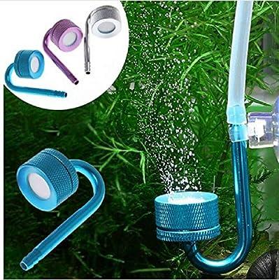 sportuli Système de diffuseur de CO2 Réacteur de dioxyde de Carbone pour Aquarium