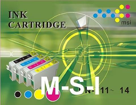 Cartouche compatible E-089 S020089 couleur pour Epson 850 Stylus Color