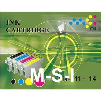 Lot de 12 Cartouches d'encre non-OEM T0711 T0712 T0713 T0714 T0715 pour Epson Stylus D78 DX4050 DX5050 DX6050 DX4400 DX4450 DX7000 DX7450 DX8400 DX9400 S20 S21 SX100 SX105 SX110 SX115 SX200 SX205 SX210 SX215 SX218 SX400 SX405 SX410 SX415 SX510 SX515 SX600 SX610 BX600FW BX300FX (3BK + 3C + 3M + 3Y)