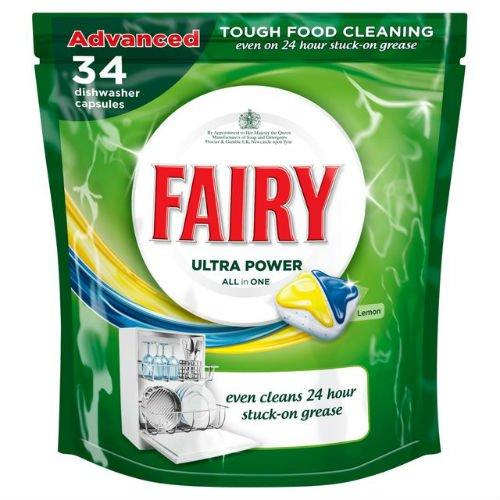 fairy-all-in-one-lavastoviglie-compresse-limone-34-per-confezione-di-6