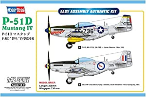 Hobbyboss 858061: 48-P-51D Mustang IV Luchador