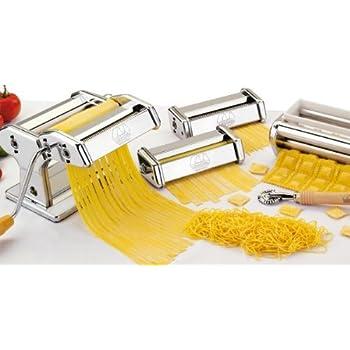 Marcato - multipast - Coffret machine à pâtes + 6 accessoires