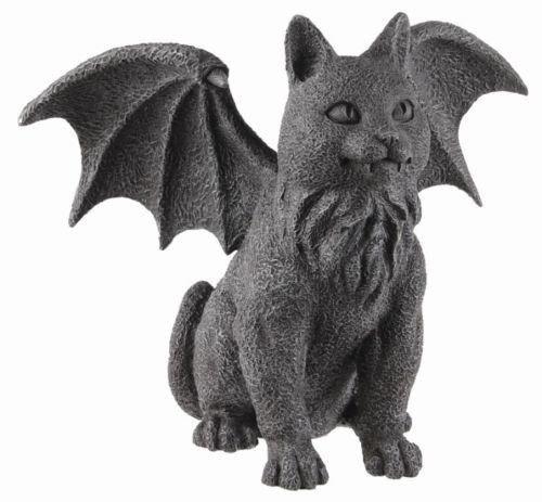 PT Geflügelten Katze Gargoyle Statue Skulptur-FECT Geschenk