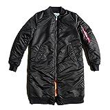 Alpha Industries Damen Jacke MA-1 Coat Rib Wmn, Größe:S, Farbe:black