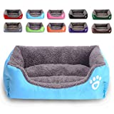 REXSONN Modern Ultra Soft Warm Pet Bed Puppy Dog Mat Pad Cat Sleeping Cushion Suits for Daily Use