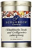 Schuhbecks Gewürze Steak- und Grillgewürz Gewürzmischung, zum Grillen und Braten, für Fleisch, Fisch, Marinaden & Ge