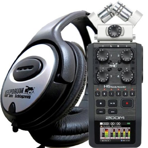 Zoom H-6 - Handy Recorder - MP3 - Wave Recorder - NEU (Dj-audio-recorder)
