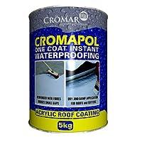 Cromapol Acrylic Waterproofing Coating Grey - 5 KG