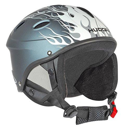 HUDORA Skihelm HBX für Kinder Gr. 48-51 Helm Ski Snowboard Schutzhelm Snowboardhelm