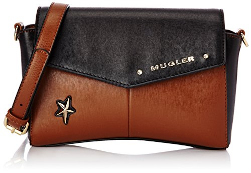 Thierry Mugler Angie 3, Sac bandoulière - Marron...