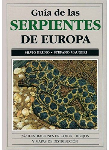 Guía de las serpientes de Europa por Silvio Bruno