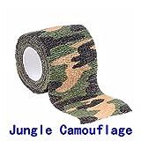 Coscelia Armée Camo Extérieure Chasse Tir Outil Camouflage Ruban Furtif Bande Étanche Wrap Durable