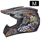 Visage aperto casco da moto personalità, casco da motocross, bicicletta da montagna, casco completo...