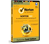 Picture Of Norton 360 Gold Edition 2013 - 1 User, 3 PCs 1 Year Subscription