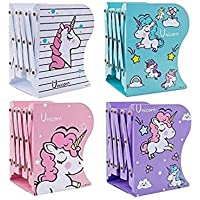 Vikas gift gallery Expandable Bookcase Desktop Bookend Stand Holder Adjustable Book Rack for Kid Office Book Organizer…