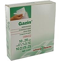 Gazin Mullkompressen 10x20 cm Steril 8fach, 5X2 St preisvergleich bei billige-tabletten.eu