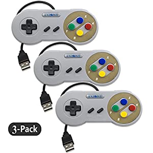 EXLENE? USB Retractable Gamepad f¨¹r Nintendo USB mit USB Verl?ngerungskabel f¨¹r Windows PC/MAC