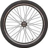 Unbekannt 24 Zoll Zündapp MTB Laufräder Aluminium Hinten Oder Vorne Scheibenbremsen, Ausführung:Vorne und Hinten