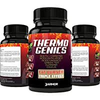 Suplemento J.ARMOR BIO3ACTIVE Thermogenics 100 cps Fat Burner Thermogenic Slimming | ALC acetilo L