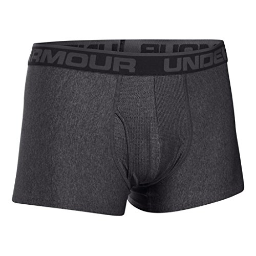 Under Armour Herren Sportswear Unterhose The Original 3 Zoll Boxerjock Carbon Heather/ Carbon Heather