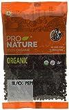#1: Pro Nature 100% Organic Black Pepper, Whole, 100g
