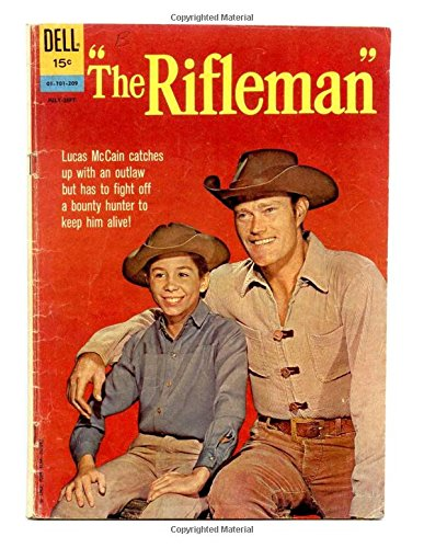 The Rifleman #12: Based On The Hit TV Series Starring Chuck Connors - All Stories - No Ads