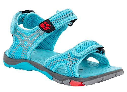 Jack Wolfskin Acora Splash Sandal Girl blue