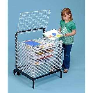 20 Shelf Paint Drying Rack / Childrens Paint Dryer- A1167