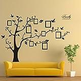 Aufkleber,Resplend 3D Wandaufkleber Kreativität Modisch Foto Baum Wandtattoos PVC Klebende Wandsticker Kunst Wohnkultur Wanddeko DIY Tapete Wandbilder (Wie das Bild zeigt)