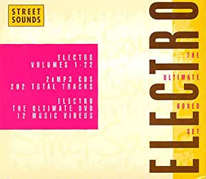Street Sounds Electro: the Ultimate [2cd + DVD] [Import anglais]