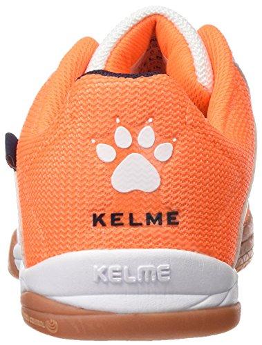 Kelme Feline 3.0, Scarpe da Calcetto Uomo Multicolore (Naranja / Blanco)