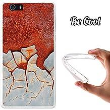 Becool® Fun - Funda Gel Flexible para Elephone M2, Carcasa TPU fabricada con la mejor Silicona, protege y se adapta a la perfección a tu Smartphone y con nuestro exclusivo diseño. Metal oxidado