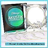 Stringx Corde Per Chitarra Acustica l Estremamente robusto l Con Bonus l Set Corde Chitarra Classica Nylon