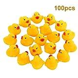 Ente Bad Spielzeug, Fascigirl Badewanne Spielzeug Mini Schwimmende Quietschende Niedliche Baby Dusche Spielzeug