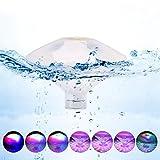 Winzwon LED Pool Beleuchtung Unterwasser Licht mit RGB und 7 Modi Disco...