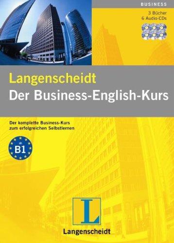 Der Business-English-Kurs. Langenscheidt. 6 Audio-CDs mit Begleitbuch und Wortschatzheft.