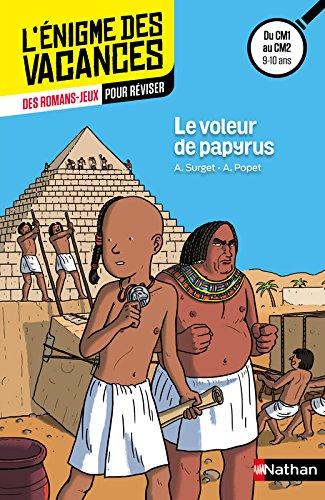 Le voleur de papyrus par Alain Surget, Anne Popet