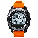 Smart Armbanduhr für Surfen,Kajak,Rafting,Segeln,Wandern,Camping,Angeln und Sport Adventurer,Wasserdicht Intelligente Uhr-Telefon,Stützmitteilung-Mitteilung,GPS-Positionierung,Bluetooth 4.0 GPS Sport smart Uhr