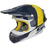 Scott 350 Pro Track MX Enduro Motorrad / Bike Helm blau/weiß 2017: Größe: L (59-60cm)