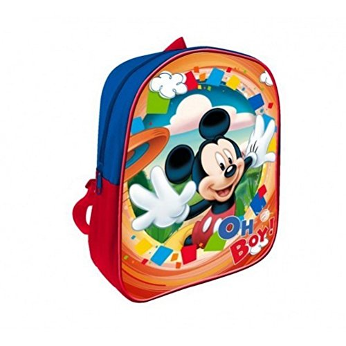 Image of Mickey Mouse School Backpack for kids 30cm