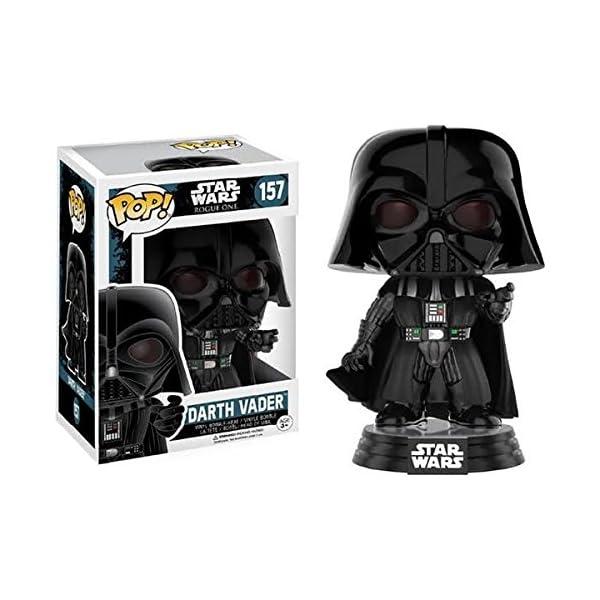 Funko Pop Darth Vader haciendo uso de la fuerza (Star Wars 157) Funko Pop Rogue One (Star Wars)